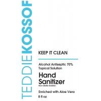 Teddie Kossof Hand Sanitizer