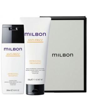 Milbon Holiday Gift Set Anti-Frizz Shampoo & Conditioner