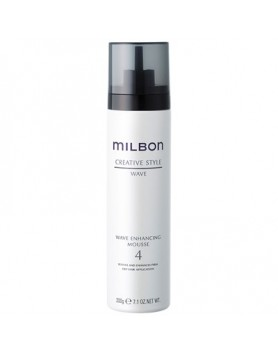Milbon Wave Enhancing Mousse #4