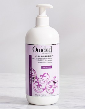 Curl  Immersion Coconut Cream Cleansing Condition